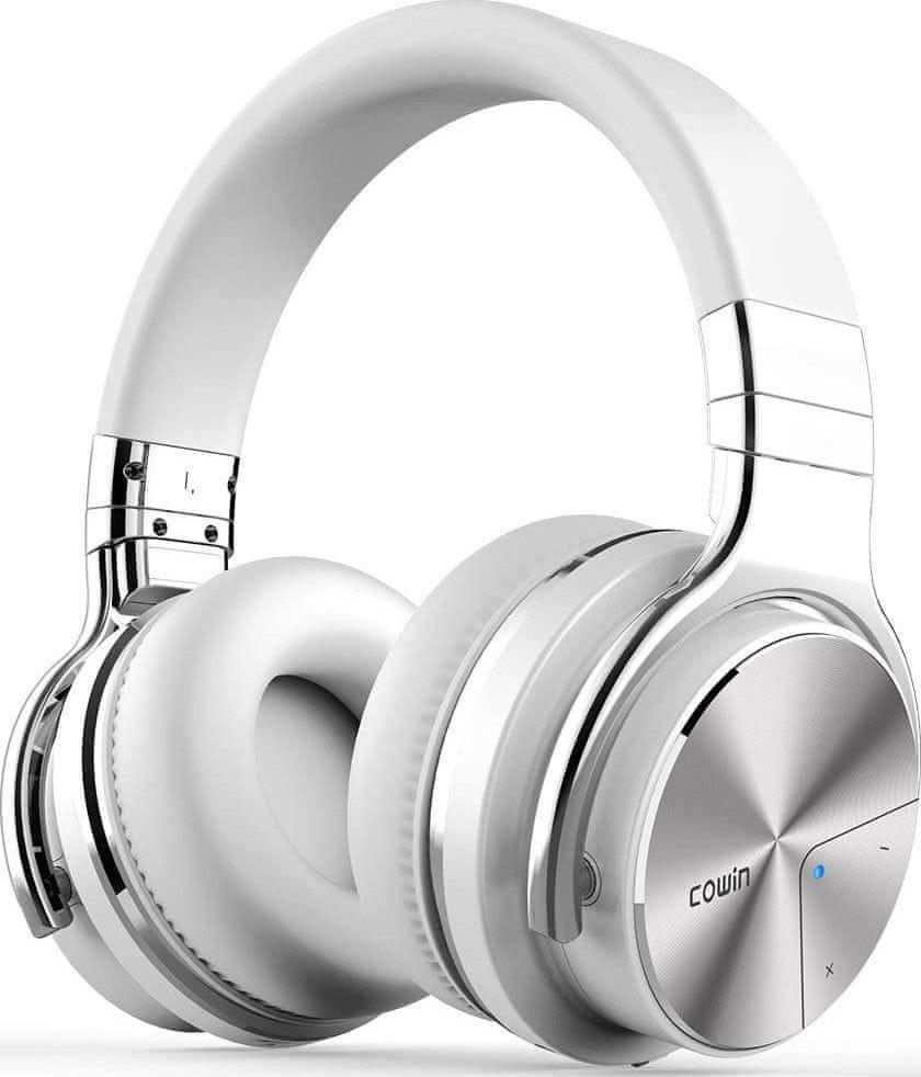 Cowin E7 PRO ANC bezdrátová sluchátka, bílá