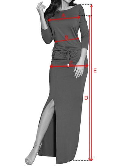 Numoco Női ruha 220-2, többszínű, XS