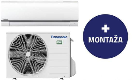 Panasonic klimatska naprava CS/CU-FZ25UKE z montažo