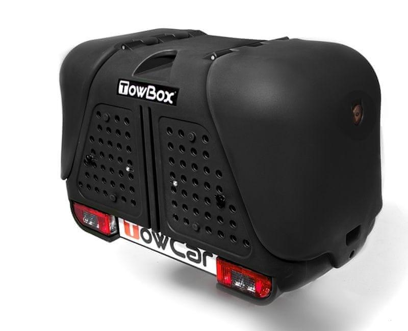 TowBox V2 DOG box na tažné zařízení - Box V2 DOG, Černá