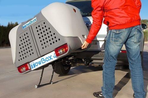 TowBox V2 DOG přepravní box na tažné zařízení