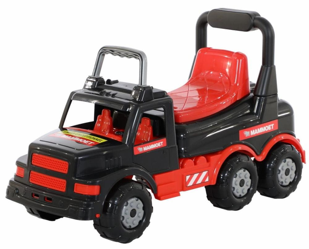 Wader Quality Toys MAMMOET Auto Truck Ride On Odpychacz 69 cm