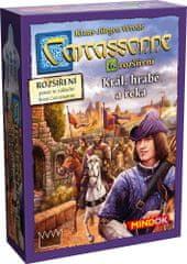 Mindok Carcassonne 6. Král, hrabě a řeka