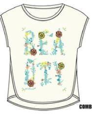 Carodel dívčí tričko 92 bílá