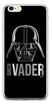 Star Wars Darth Vader Luxury Chrome 010 Kryt pro iPhone XS Max Silver, SWPCVAD3001