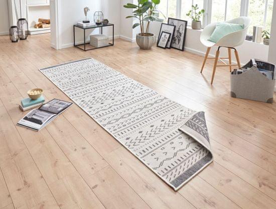 Bougari AKCE: 80x150 cm Kusový koberec Twin Supreme 103437 Kuba grey creme