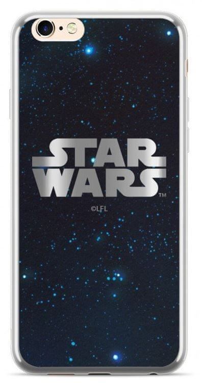 Star Wars Luxury Chrome 003 Kryt pro iPhone XS Max Silver, SWPCSW1201