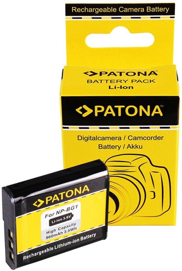 PATONA Baterie pro foto Sony NP-BG1 960 mAh Li-ion PT1050 - rozbaleno