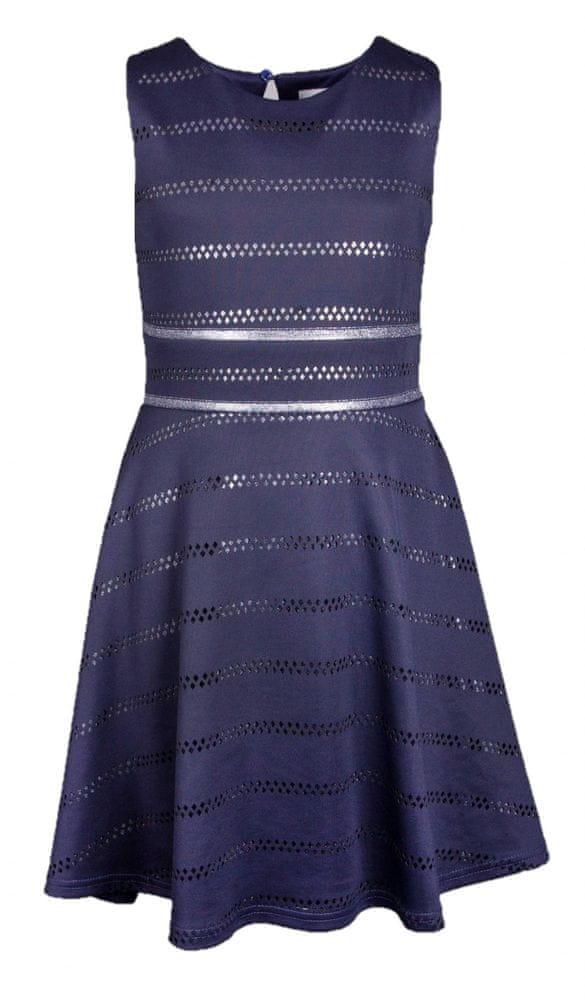 Happy Girls dívčí šaty 134 tmavě modrá