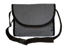 KiBi torbica 3v1, črno bela