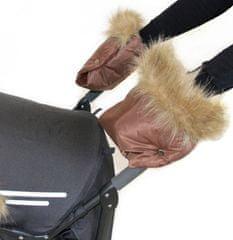 Emitex rękawice LUXURY, brązowe