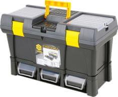 """Vorel Box na nářadí plastový 20"""" + 3x zásuvka"""