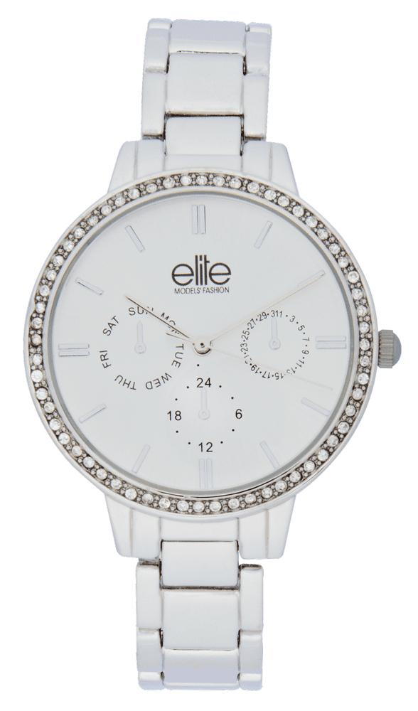 Elite Models dámská sada hodinek a náramku E54874-204 - zánovní