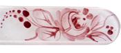 Blažek Steklena datoteka za nohte z okrašenim ročajem