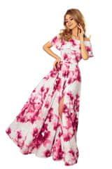 Numoco Dámské šaty 194-2, vícebarevné, S