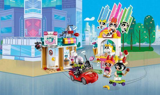 LEGO Powerpuff Girls 41288 Mojo Jojo napadajo