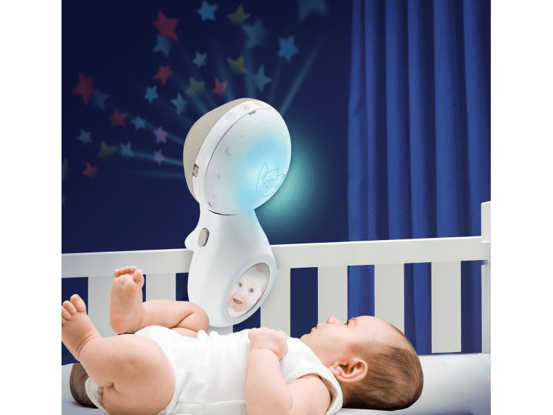Infantino Hudební kolotoč s projekcí 3v1 ecru - rozbaleno