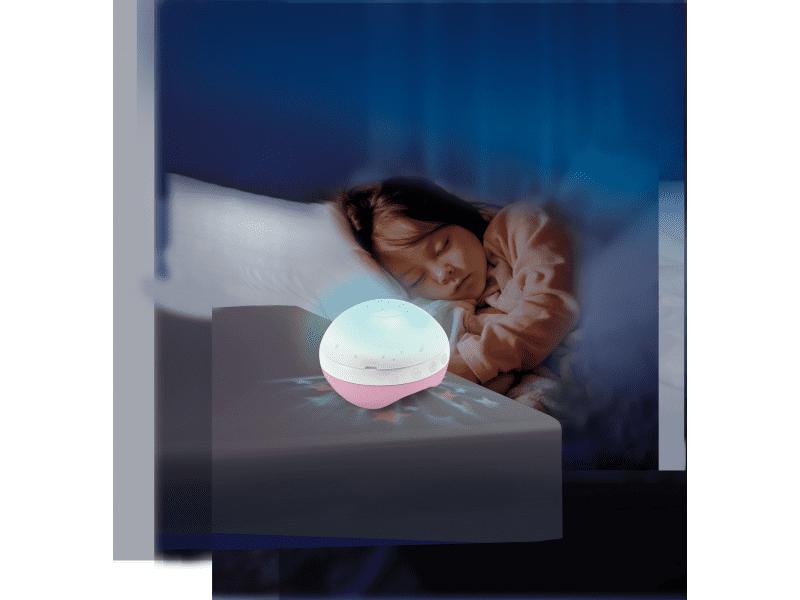 Infantino Hudební kolotoč s projekcí 3v1 růžový - zánovní