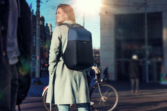 "Trust Nox Anti-theft Backpack 16"" 23307, modrá"