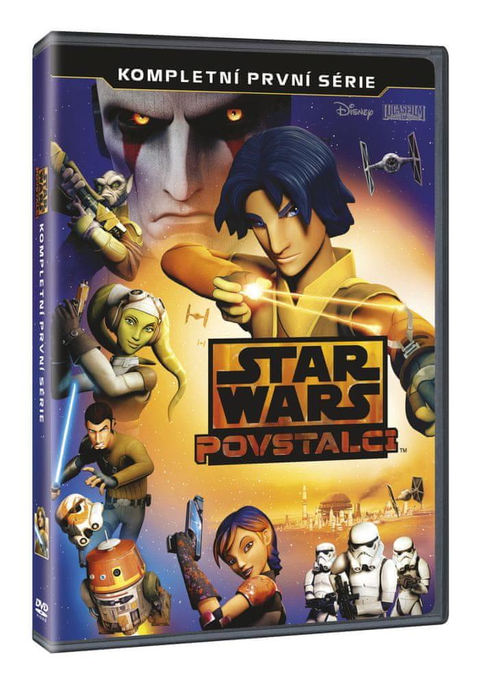 Star Wars: Povstalci - Kompletní 1. série (3DVD) - DVD