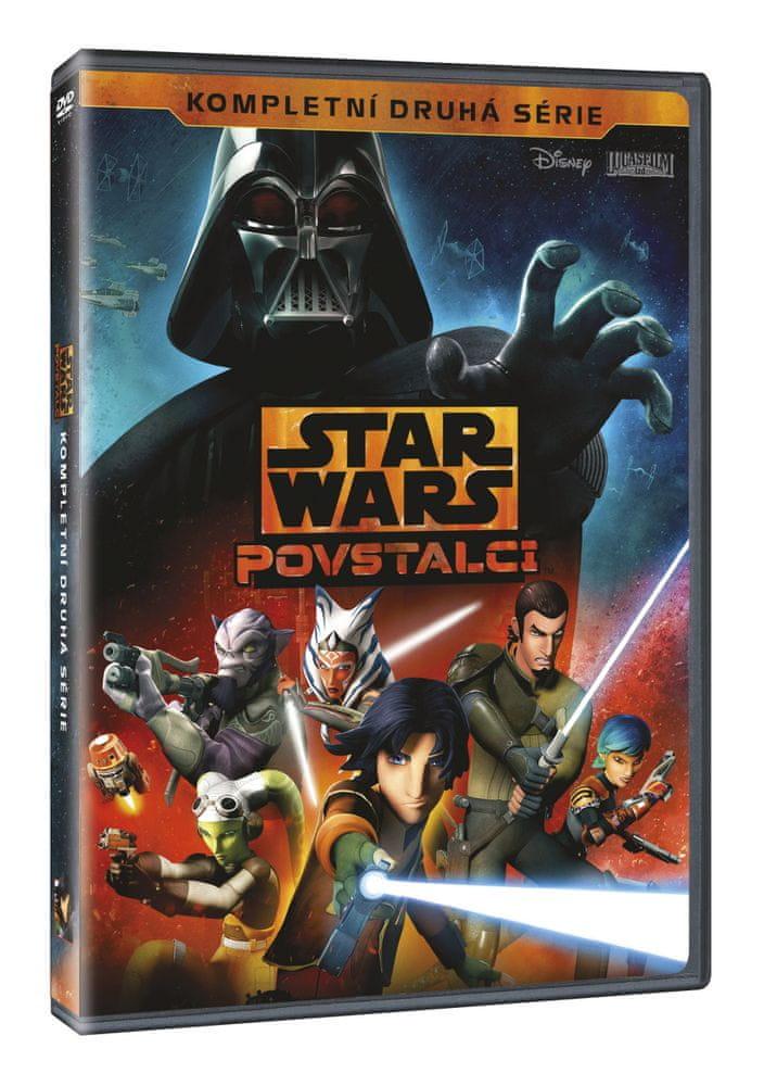 Star Wars: Povstalci - Kompletní 2. série (4DVD) - DVD