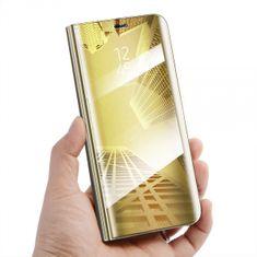 Onasi ovitek Clear View za Samsung Galaxy A6 Plus 2018 A605, zlat