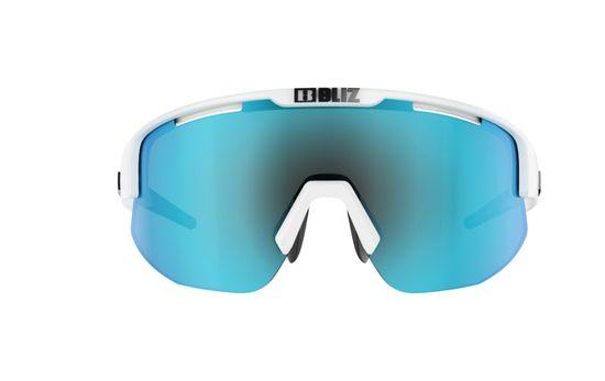Bliz Matrix - Shiny White - Smoke w Blue Multi - 52804-03