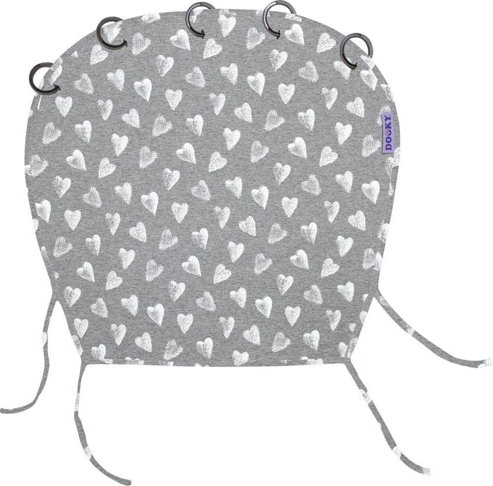 Dooky Design Limited HEARTS GREY