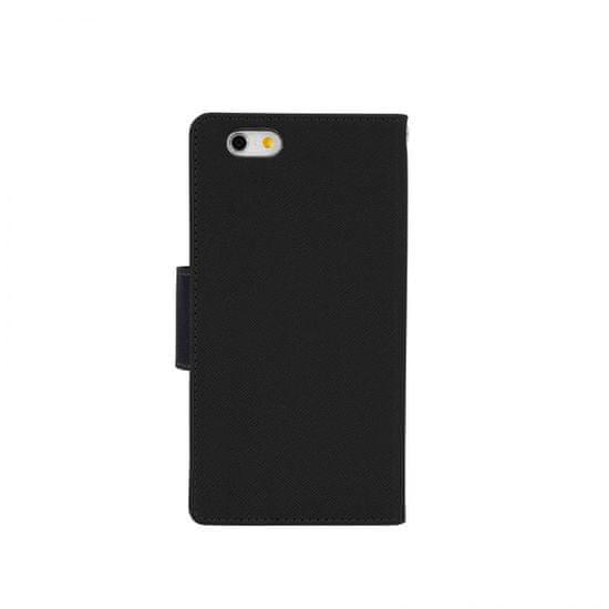 Havana torbica Onasi 2v1 za iPhone 8 Plus / iPhone 7 Plus, preklopna in silikon, črna