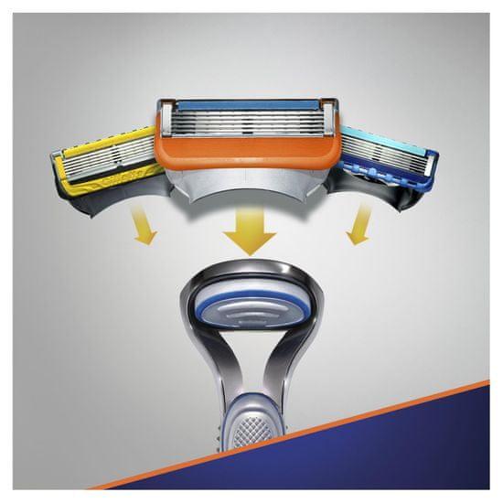 Gillette britvica Fusion5 + 10 glav za britje