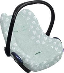 Dooky Seat Cover 0+ Limited HEARTS MINT