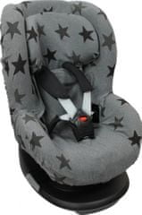Dooky Seat Cover Group 1 Grey Stars