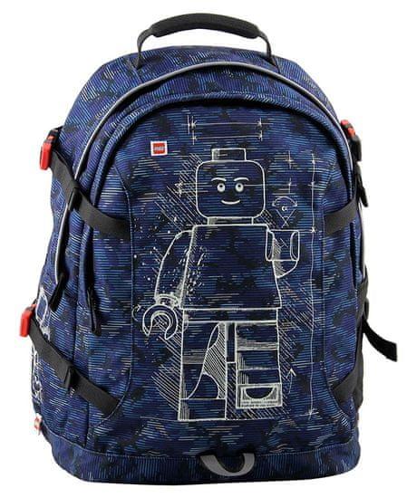 LEGO plecak szkolny Minifigures Blue Camo Tech Teen