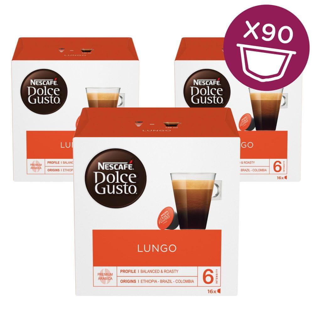 Nescafé Dolce Gusto Lungo kávové kapsle 30 ks