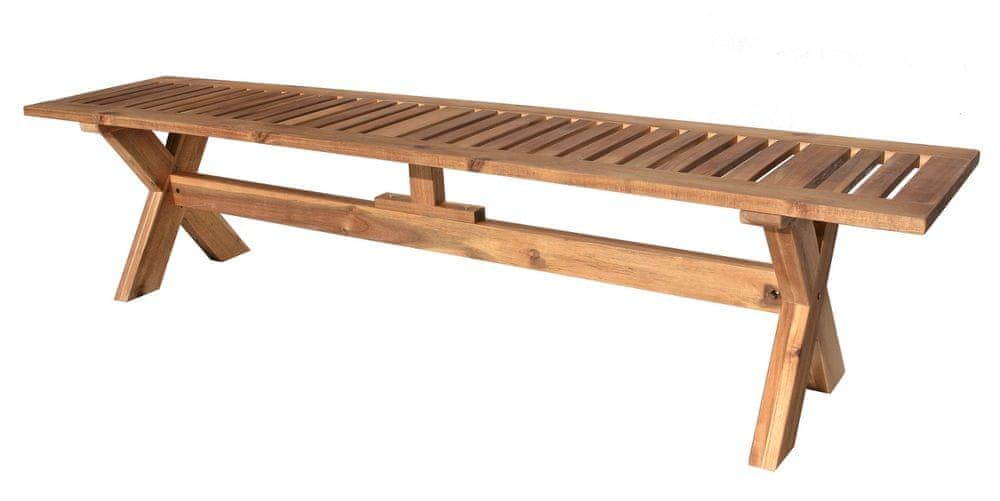 Rojaplast Dřevěná lavice GORDON