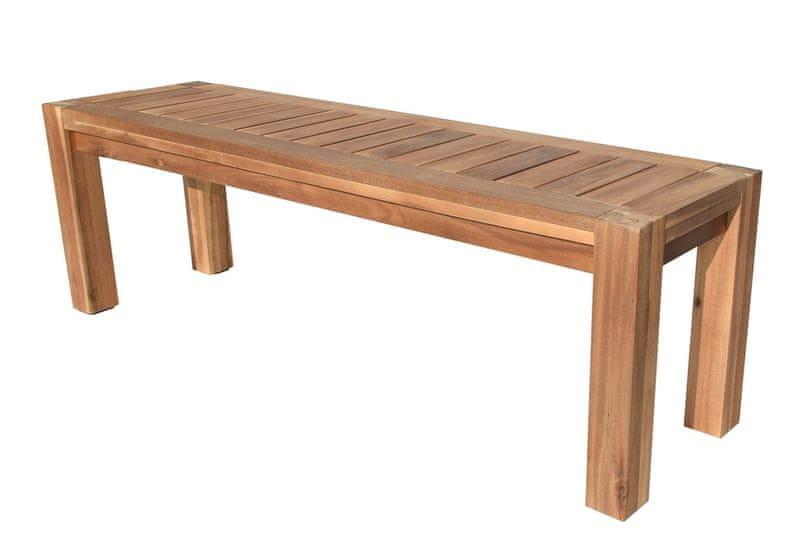 Rojaplast Dřevěná lavice BILL