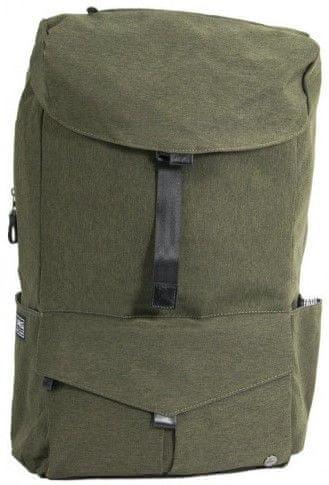 "PKG Cambridge Laptop Backpack 15"" PKG-CAMBRIDGE-EGREEN, zelený"