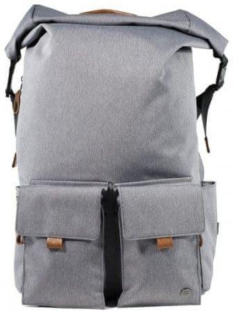 """PKG Concord Laptop Backpack 15"""" PKG-CONCORD-LGRY, světle šedá"""