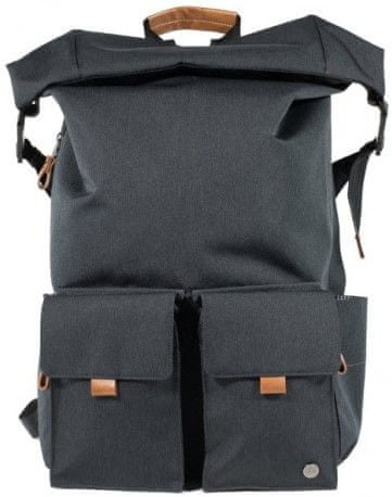"PKG Concord Laptop Backpack 15"" PKG-CONCORD-DGRY, tmavě šedý"
