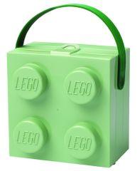 LEGO pudełko śniadaniowe z uchwytem, zielone