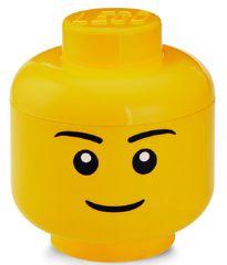 LEGO głowa do przechowywania (rozmiar S) - chłopiec