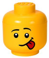 LEGO głowa do przechowywania (rozmiar L) - Silly
