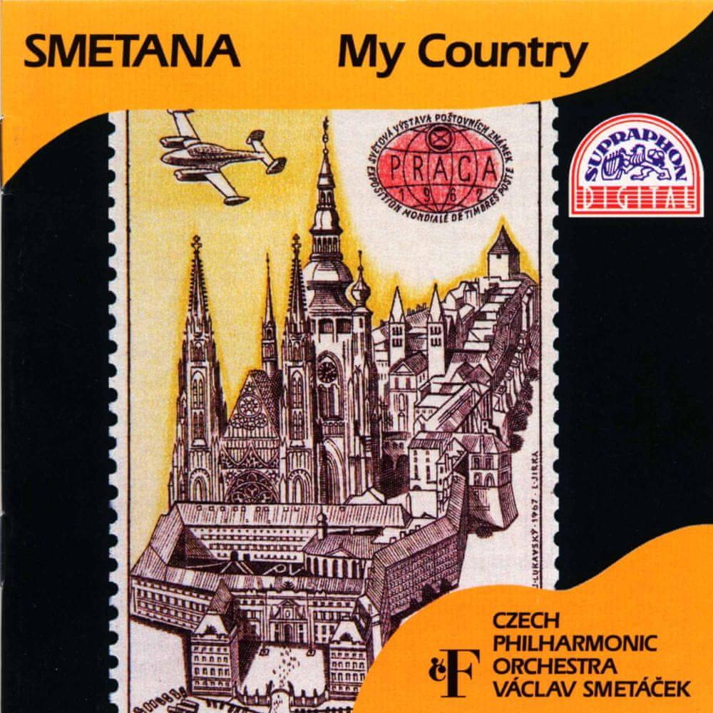Česká filharmonie,Václav Smetáček: Bedřich Smetana: Má vlast (Cyklus symfonických básní) - CD