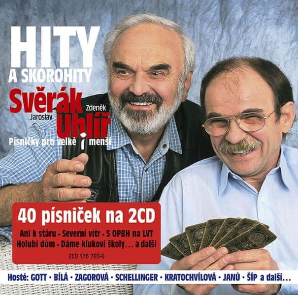 Svěrák a Uhlíř: Hity a Skorohity (2x CD) - CD