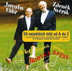 Svěrák a Uhlíř: 20 let písniček z pořadu Hodina zpěvu - 50 největších hitů od A do Z + pohádkové bonusy (2x CD) - CD