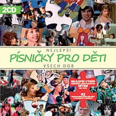 Various: Nej písničky pro děti všech dob (2x CD) - CD