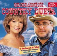 Nejkrásnější country dueta - CD