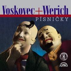 Werich Jan, Voskovec Jiří: Písničky - CD