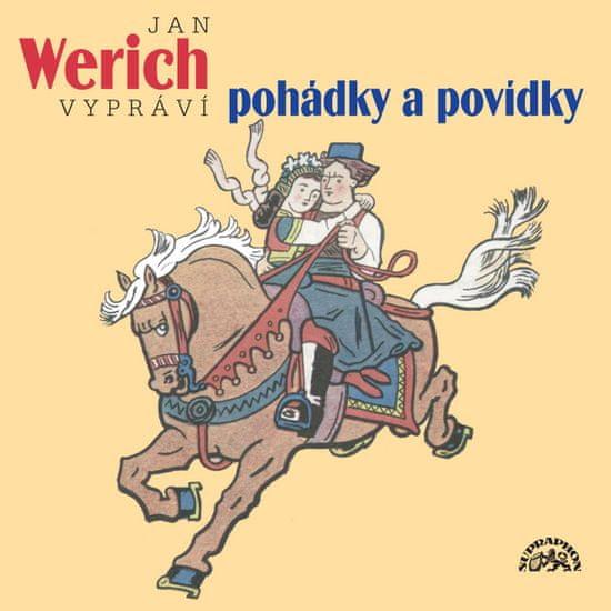 Werich Jan: Jan Werich vypráví pohádky a povídky - CD