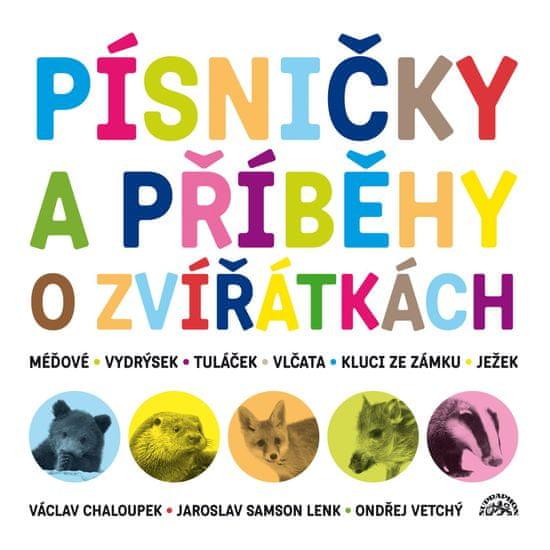 Chaloupek Václav, Lenk Jaroslav Samson: Písničky a příběhy o zvířátkách (2x CD) - CD